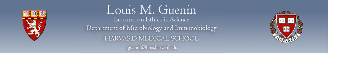 Louis M. Guenin Harvard Medical School